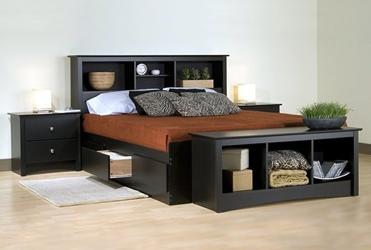INDOOR MAHOGANY FURNITURE, Bed Set