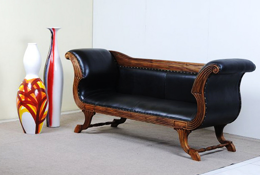 Indonesia Leather Teak Furniture