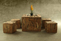 Square Reclaimed Teak Furniture Manufacture