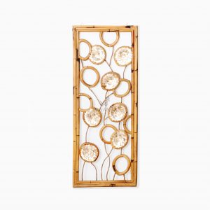 Belle Capiz Wall Decoration - Rattan Wall Furniture