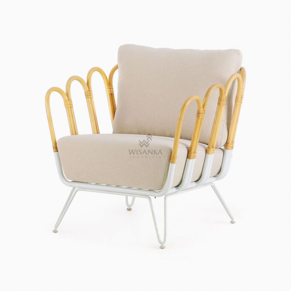 Cisco Occassional Chair - Natural Rattan Chair (4)