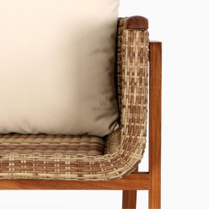 Arka Terrace Chair – Outdoor Rattan Garden Patio Furniture detail 1