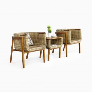 Arka Terrace Set Outdoor Rattan Garden Patio Furniture