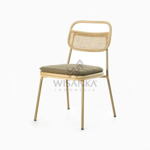 Akina Side Chair - Natural Rattan Wicker Furniture