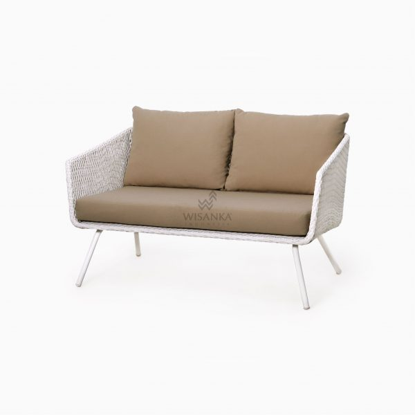 Clarendon Sofa 2 Seater - Outdoor Rattan Garden Patio Furniture