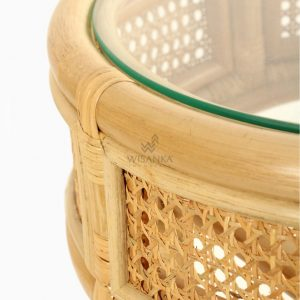 Lerida Side Table - Natural Rattan Wicker Furniture detail